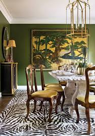 zebra living room set decorating beautiful wall art painting and green wall colour plus