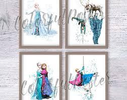 Frozen Kids Room by Frozen Room Decor Etsy