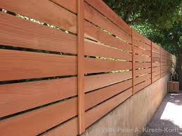 horizontal wooden fence gate wall extension