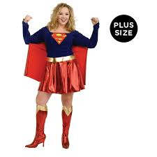 Tall Man Halloween Costumes Supergirl Costume Walmart