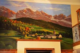 custom painted murals by utah mural artist billy hensler