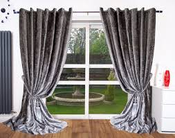 Curtains Ring Top Crush Velvet Curtains Ring Top Eyelet Ready Made Fully Lined