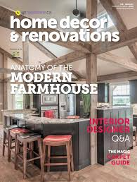 latest edition of home decor and renovations magazine
