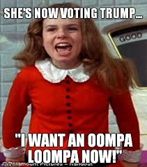 Willy Wonka Meme Maker - veruca salt imgflip