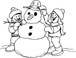 coloring page snowman family coloring page snowman candy cane coloring pages and snowman a