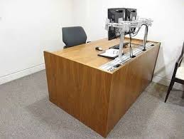 Office Second Hand Furniture by 44 Best Used Office Desks Second Hand Desks Images On Pinterest
