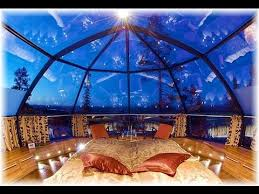 sleep under the northern lights would you like to sleep under the stars in a glass igloo youtube