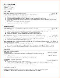 Resume Template For College Student Internships College Grad Resume Template College Student Resume Example