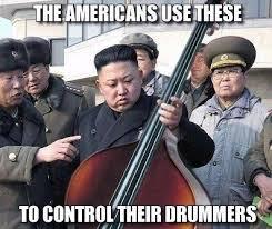 Bass Player Meme - ideal bass player meme north korea has a new secret weapon music