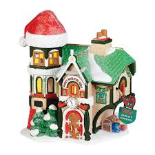 department 56 north pole toy land santa u0027s north pole office