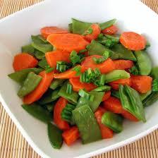 cuisiner des pois mange tout recette carottes et pois mange tout au beurre