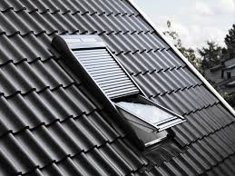 roller shutters metal for roof windows volet roulant velux