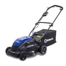 lawn mowers electric gas push u0026 more lowe u0027s canada