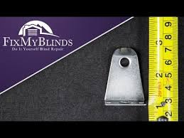 Blind Hold Down Bracket How To Measure For Hold Down Brackets Youtube