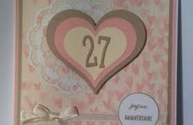 27 ans de mariage anniversaire de mariage le de cathy