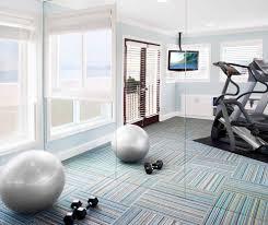 wall carpet home gym flooring home gym contemporary with beige wall carpet