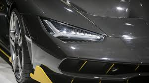 lamborghini aventador headlights in the dark we may already know what the aventador u0027s successor will look like
