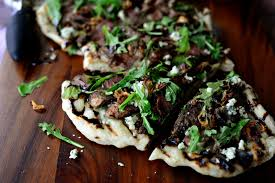 simply scratch steak and blue cheese pizza simply scratch