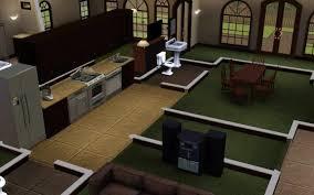 sims kitchen ideas sims 3 kitchen ideas retro kitchen anthracite turquoise by