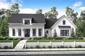 mid size exclusive modern farmhouse plan 51766hz architectural