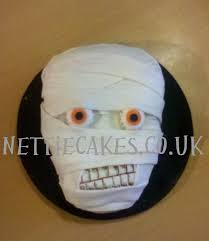 halloween mummy cake gory halloween cake cakecentral com