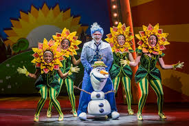 frozen musical spectacular u201d takes stage aboard disney
