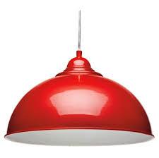 lighting appealing red pendant lamp shade for modern pendant