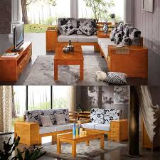 grade oak sofa combination of small l shaped living room with