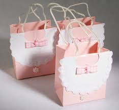 baby shower gift bags pink bib baby shower favor bags bags basic craft supplies