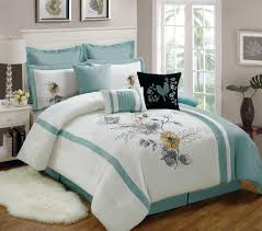 Aqua And White Comforter Fresh Finest Aqua Comforters Sets 16613