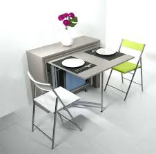 table rabattable cuisine table de cuisine avec chaise photo table pliable cuisine symbiosis