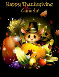 happy thanksgiving to our canadian friends