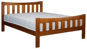 Bed Frame High Slatted Bed Frame High Foot