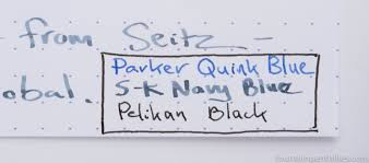 Navy Blue An by First Look Seitz Kreuznach Navy Blue Ink U2013 Page 2 U2013 Fountain Pen