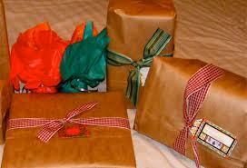 Michaels Gift Wrap - frugal gift wrapping ideas the happy housewife frugal living