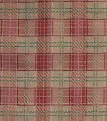 Red Plaid Upholstery Fabric Tapestry Plaid Upholstery Fabric Great Lakes Fabrics