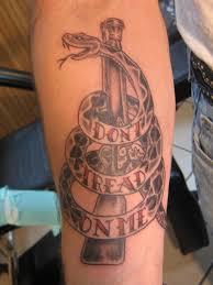 Don T Tread On Me Tattoo Ideas Don U0027t Tread On Me Tattoo By David At California Tattoos In