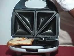 Philips Sandwich Toaster Ka Sst032 Singer Sandwich Toaster Training Youtube