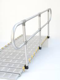 Handrails Aluminum Handrails Portable Ramps Roll A Ramp