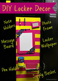 DIY Locker Decorations and Accessories