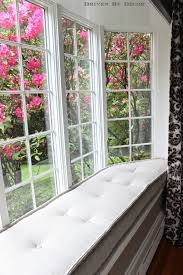 Making A Bay Window Seat - our french mattress style window seat cushion window seat