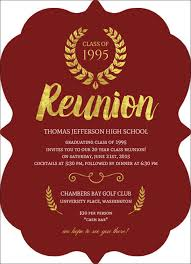 reunion invitation template orax info