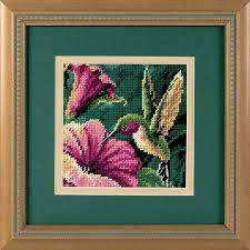 dimensions hummingbird drama needlepoint kit 7210 123stitch