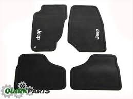 2003 jeep liberty floor mats 02 04 jeep liberty slate carpet floor mats front rear oem