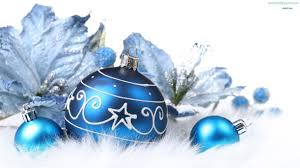 blue ornament backgrounds happy holidays