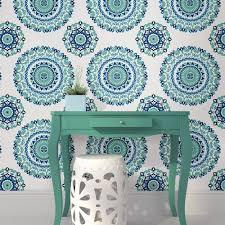 peel and stick wallpaper jasmine medallion peel and stick wallpaper lelands wallpaper