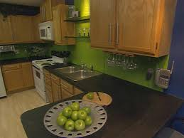 Epoxy Countertop Industrial Chic Kitchen On The Cheap Hgtv