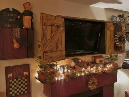 furniture rustic gray brown pine entertainment wall unit by