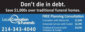 local cremation local cremation funerals seniors blue book
