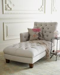 Chaise Lounge Sofa Furniture Cool Gray Tufted Chaise With Arm Tufted Chaise Ideas